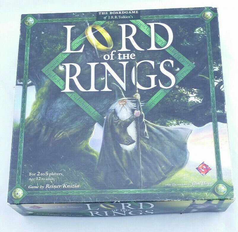 Lord of the Rings (Board Game, 2000) Reiner Knizia LOTR