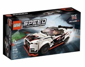 1024 pieces Nissan GT-R Nismo Sports Car Technical Brick Model