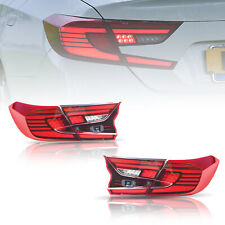 Led Red Tail Lights For Honda Accord 10th Gen 2018 2020 Rear Lamps Assembly