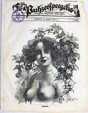 "LATVIA EROTIC Humorous Illustrated Magazine ""PUHZESKPEEGELIS"" No.13 1925 EROTICA"