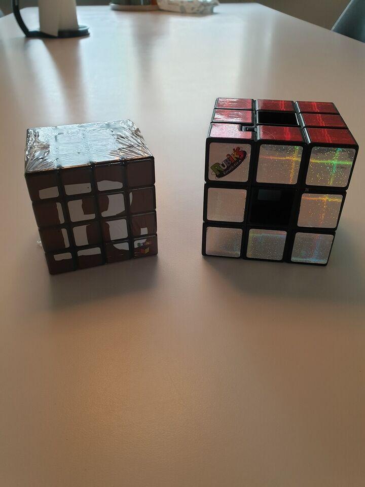 Andet legetøj, 1 x revolution og 1 x snøfler rubiks cube,