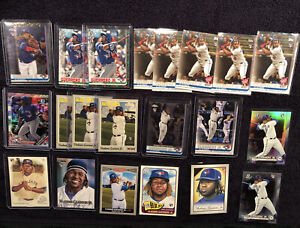 (79) 2019 2020 Topps Chrome Bowman Panini Vladimir Guerrero Jr RC & 2nd Year Lot