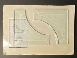 Stained Glass Supplies 3.5 x 1 Corner Bevels