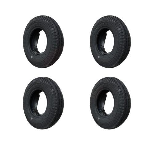 """4 Set Decke Reifen Schlauch 4.80//4.00-8/"""" KENDA Anhängerreifen DDR-HP Anhänger"""
