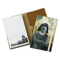 Holy Crap Erin Smith Art A24743 Friends List Notebook with Concertina File