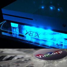 VINCORP ® USB Design Kühler Lüfter blau LED Ständer Xbox One S 360 Scorpio