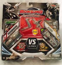 Monsuno Shadow  #35 Poisonwing #37 HydroVS 2-Pack Eklipse Storm Serie 3