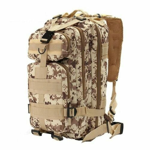 1000D Nylon Tactical Military Backpack Waterproof Army Bag Outdoor Sports 30-40L