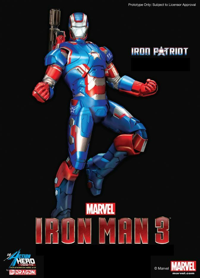 Dragon  38114 1/9 Iron Man 3 - Iron Patriot