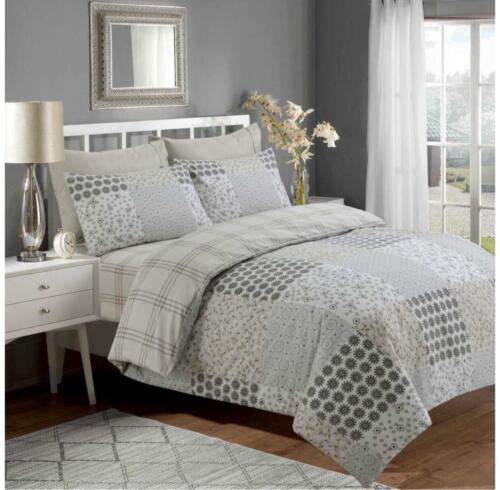 Duvet//Quilt cover complete 100/% egyption cotton 4 Peices set MH Home Deore