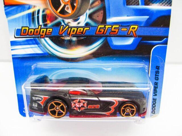 BRICK RED DODGE VIPER GTS-R RACING LOOSE HOT WHEELS 1//64 DIECAST CAR