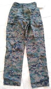 New-USMC-Woodland-MARPAT-FROG-Combat-Ensemble-Pants-Trouser-Size-Large-Regular