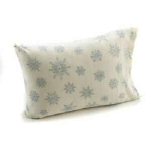 BLUE-XMAS-SNOWFLAKE-FLEECE-SHEET-SET-FLAT-FITTED-PILLOWCASE-KING-QUEEN-TWIN-NEW