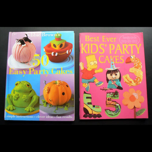 Debbie Brown 50 Easy Party Cakes Kids birthday cake decorating novelty icing fun