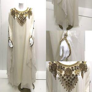 Dresses khaliji kaftan Farasha Farasha party one maxi Dress Dubai Taille xgw4A6qw