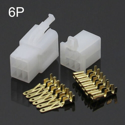 2//3//4//6//9 Way Pin 2.8mm Electrical Wire Connector Plug And Socket Sets Car Auto