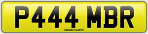 Amber-Ambers-NUMBER-PLATE-AMB-NO-ADDED-FEES-P444-MBR-CAR-REGISTRATION-AMB-AMBERS