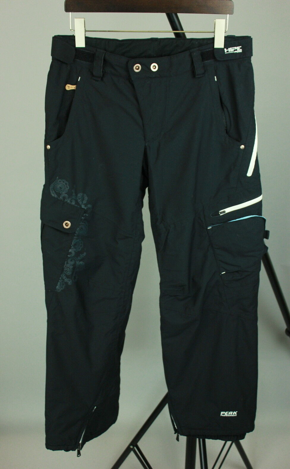 PEAK PERFORMANCE W RAIL P HIPE THERMOLITE Womens LARGE Padded Ski Pants RCS10308
