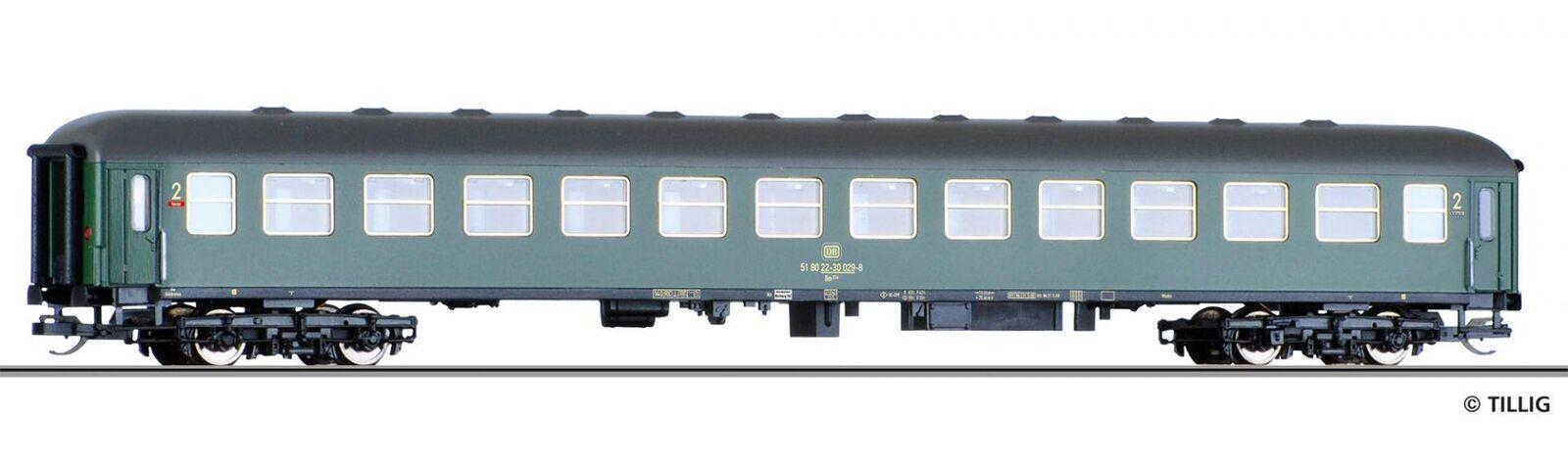 Tillig 16208 viaggiatori 2. classe BM 235 della DB, Ep. IV