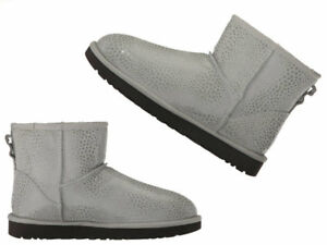9828f20ec4a Women's Ugg Australia Classic Mini Glitzy ankle boot spotted LEATHER ...