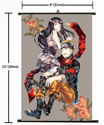 Hot Japan Anime NARUTO  Wall Poster Scroll Home Decor cosplay 770