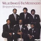 The Legend Lives On by Willie Banks & The Messengers (CD, Nov-1991, Malaco)
