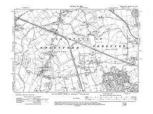 Old-map-Ealing-N-Greenford-Perivale-Northolt-E-1920-Middlesex-repro-15-NE
