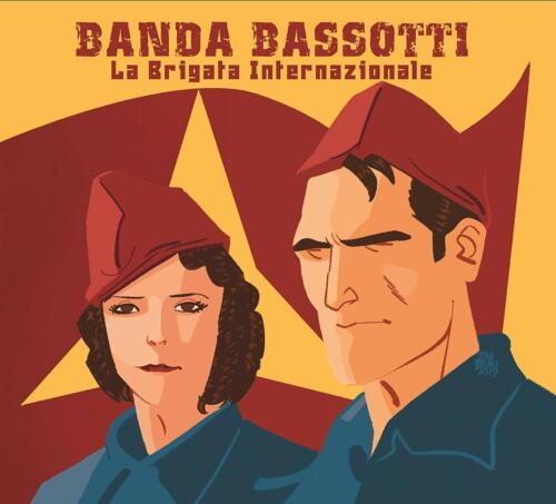 CD WITH BANDA BASSOTTI-LA BRIGATA INTERNAZIONALE