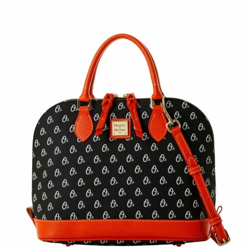 Dooney /& Bourke MLB Baltimore Orioles Zip Zip Satchel