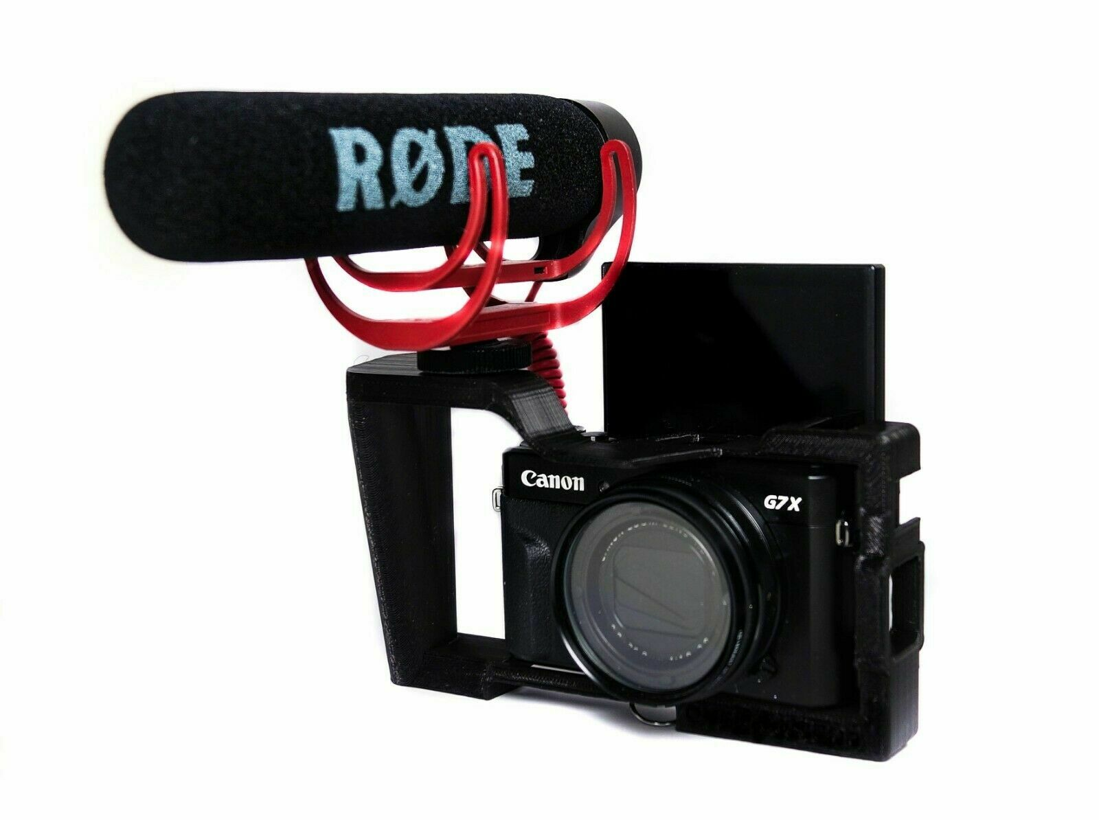 [3D Printed] Camera cage for Canon G7X Mark II / Mark III