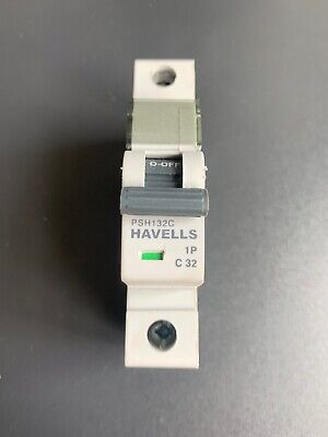 MCB CIRCUIT BREAKER HAVELLS HSM132B 32A SP TYPE B