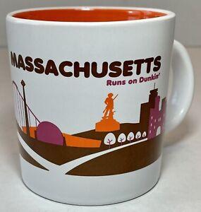 Dunkin' Donuts Limited Edition Massachusetts Destinations 14 oz. Coffee Tea Mug