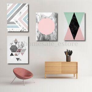 21x30cm Geometry Abstract Minimalist Canvas Print Painting Wall Decor Unframed