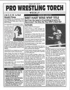 Pro-Wrestling-Torch-Weekly-10-19-92-Issue-197-Bret-Hart-WCW-WWF-WWE