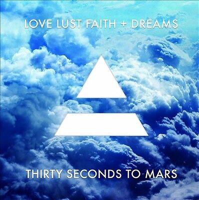 30 Seconds To Mars - Love Lust Faith + Dreams Explicit Version Vinyl Record LP