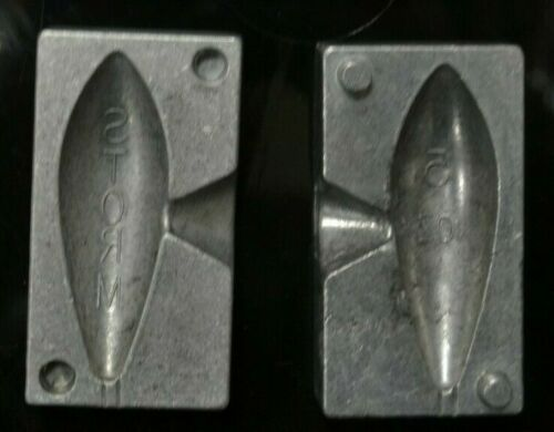 3oz BEACH BOMB WEIGHT MOULDS