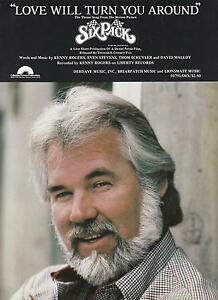 Love Will Turn You Around - Kenny Rogers - 1982 Sheet ...
