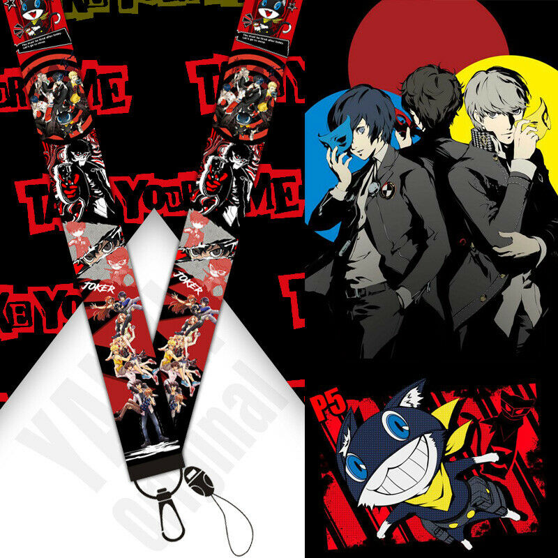 Anime Persona 5 Cosplay Phone Strap Mobile Phone Rope Hanging Wire