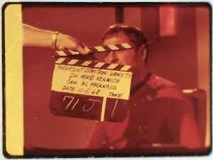 Star-Trek-TOS-35mm-Film-Clip-Slide-Lights-Zetar-Clapper-Board-Scotty-3-18-23