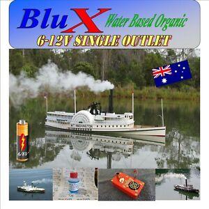 RC-Model-Boat-Smoke-Generator-6-8-Volt-BluX-Super-Smoker-Free-BluX-Fluid