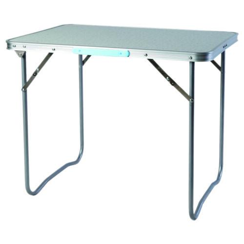rot Campingmöbel Set XL Tisch mit Tragegriff und Campingstuhl mit Tasche 5-tlg