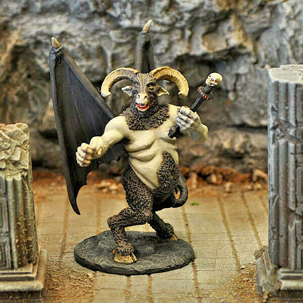 Otherworld D&D Mini -  ORCUS, PRINCE OF THE UNDEAD  (HARD TO FIND and NEW!!)