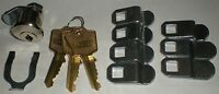 Lock Cylinder Univeral Latch Body Mail Box Lock With Spring Mounting Clip