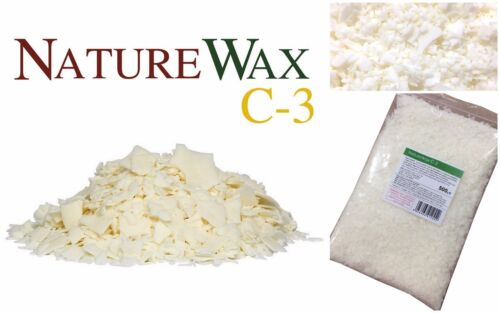 C-3 Soy Container Candle Wax 100/% Natural Soy 500g Naturewax C3 Soya Wax