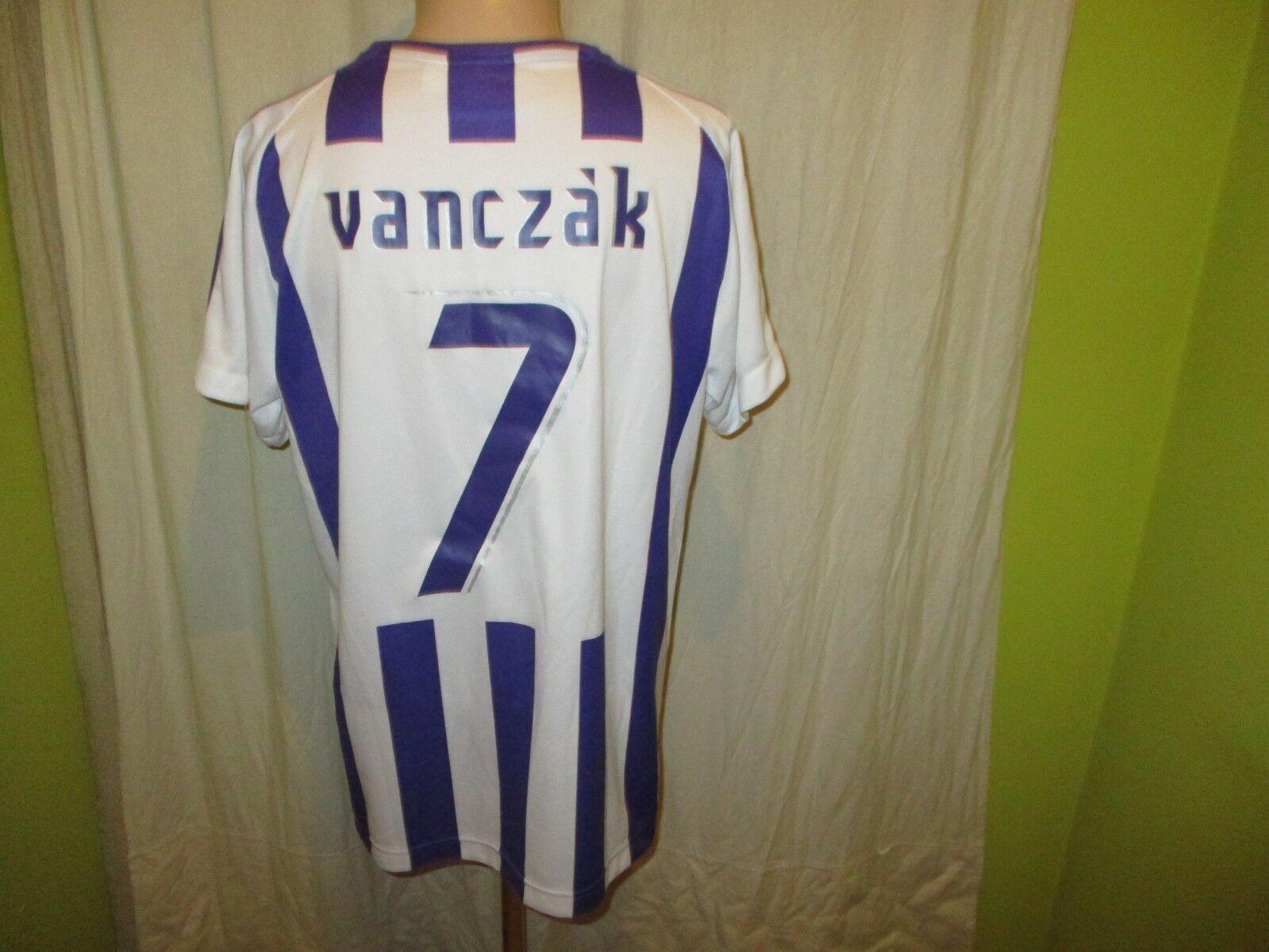 Üjpest FC Puma Puma Puma Heim Trikot 2001 02  ohne Hauptsponsor  + Nr.7 Vanczak Gr.L TOP 3f86f2