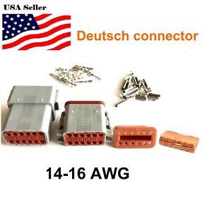 12-Pin-Deutsch-DT06-DT04-Engine-Gearbox-waterproof-electrical-connector