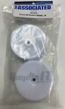 White Team Associated 91572 61mm Front 2Wd Buggy Wheel