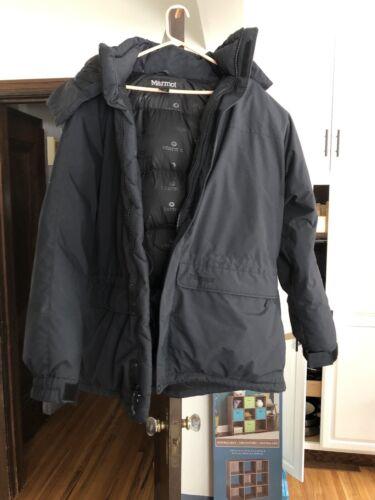 Marmot Mens Yukon Parka. Jacket Black Large Down F