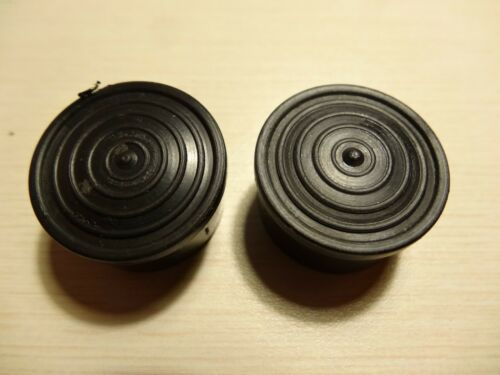 NOS handlebar end caps plugs black new old stock