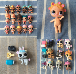L.O.L Surprise Doll Animal Pet 3x Random FigureToy mini Sister Series Xmas Gift